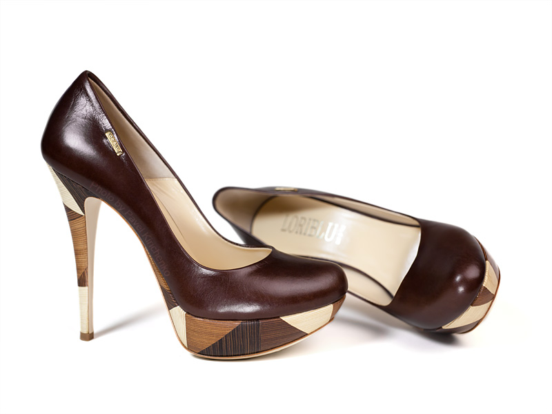 Предметная фотосъемка: туфли на высоком каблке