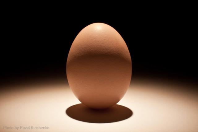 Предметная фотосъемка примеры работ: яйцо
