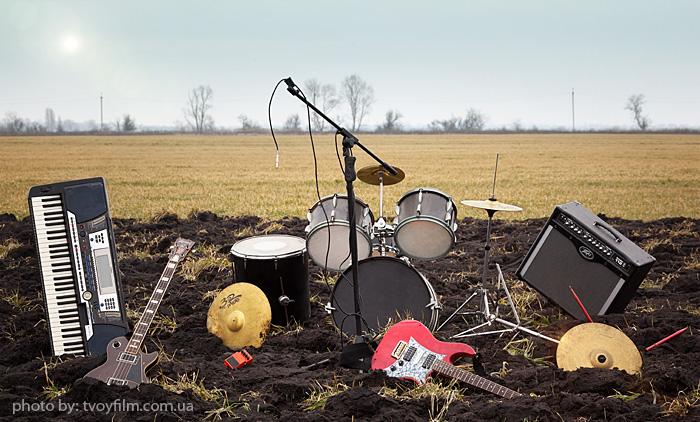 Фотосъемка для плакатов музыкальных коллективов