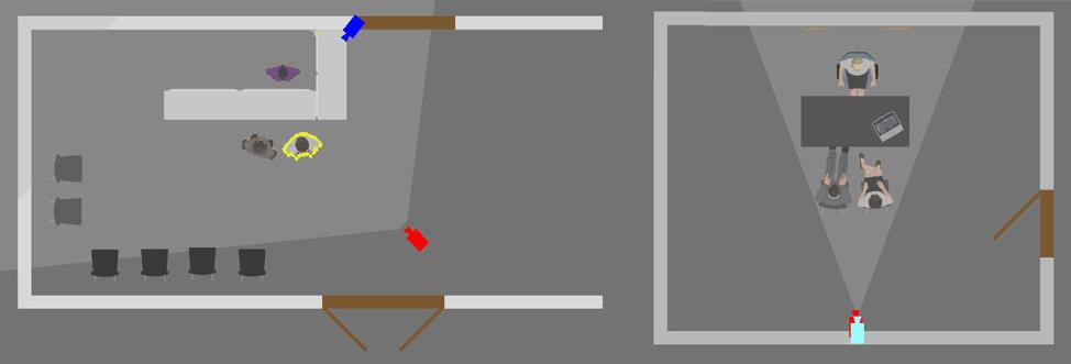Разработка мизансцены и размещение актеров на площадке